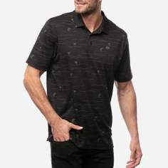 Obrázok ku produktu Pánska polokošeľa Travis Mathew  THROUGH BEING COOL BLACK