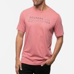Obrázok ku produktu Pánske golfové tričko TravisMathew TED červené