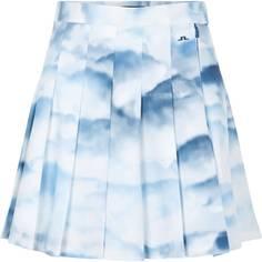 Obrázok ku produktu Dámska sukňa J.Lindeberg Adina Golf Skirt CLOUD MIDNIGHT SUMMER BLUE